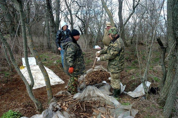 Біля Кременчука знайшли останки 40 бійців_1