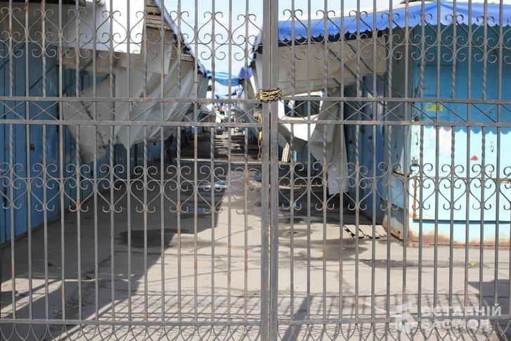У Полтаві другий день тривають протести торговців речового ринку_1