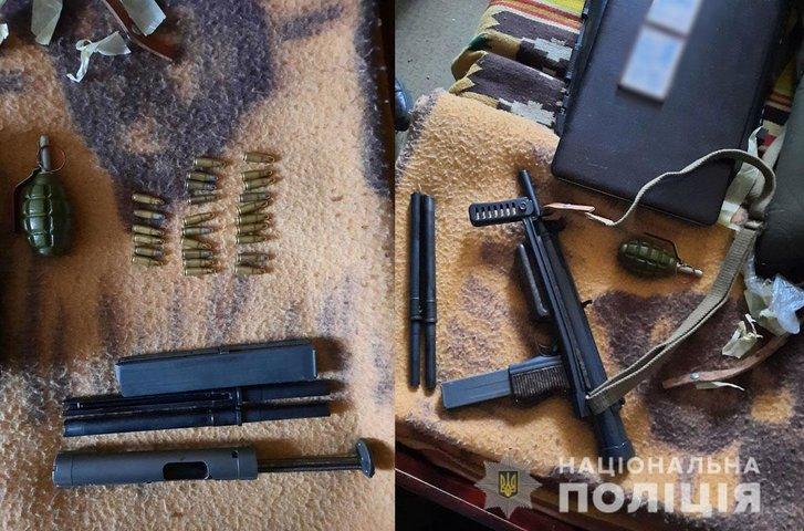 На Полтавщині затримали двох торговців зброєю_1