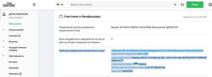 НАК «Надра України» як джерело збагачення Тараса Кузьмича_10