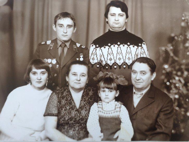 У колі сімї 1984 р.