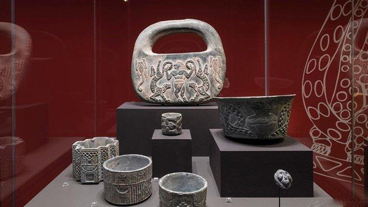 Артефакти, виявлені при розкопках вражали майстерністю виконання.
