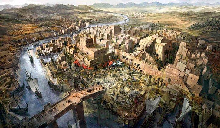 Стародавнє аккадське царство.