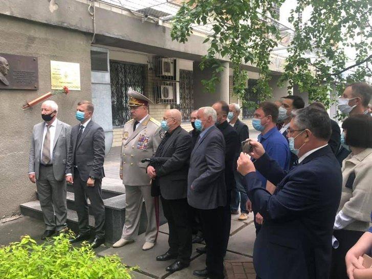 У Києві відбулася церемонія відкриття меморіальної дошки Володимира Степановича Сідака