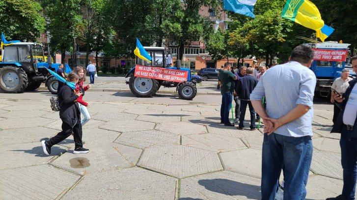 Акція спротиву продажі української землі