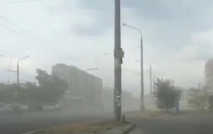 Пилова буря у Запоріжжі