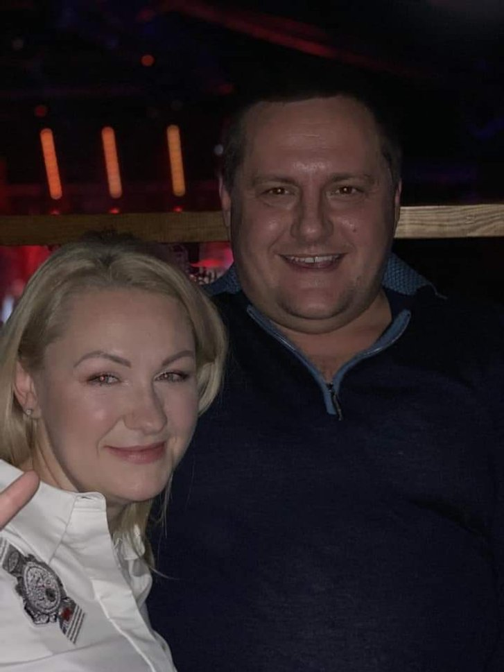 Тимофій Голбан та Олена Різниченко