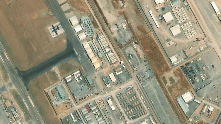 Летовище іракського міста Ербіль (до теракту)