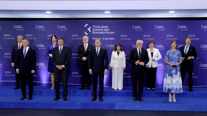 Лідери країн Тримор'я на Софійському саміті (8-9.07.2021)