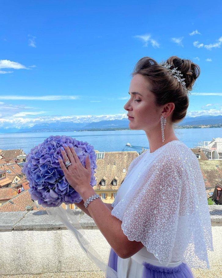 Найкраща українська тенісистка Еліна Світоліна 16 липня вийшла заміж_4