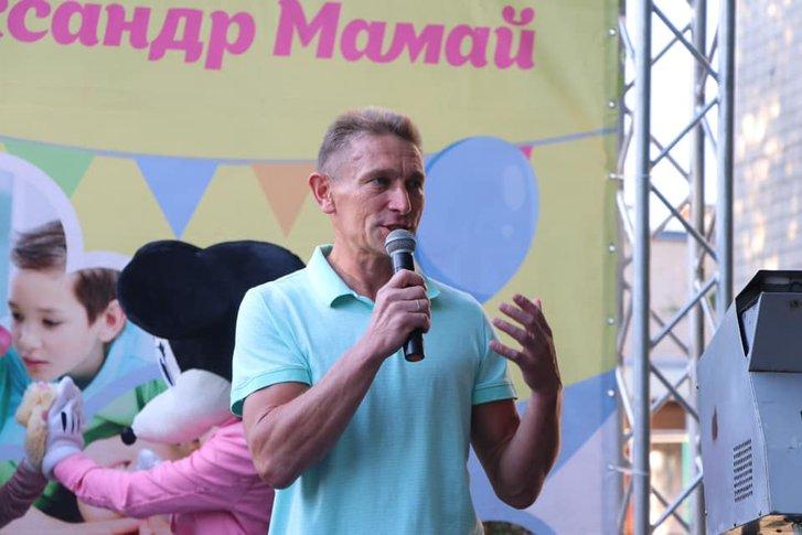 Валерій Пархоменко на Мамаївках