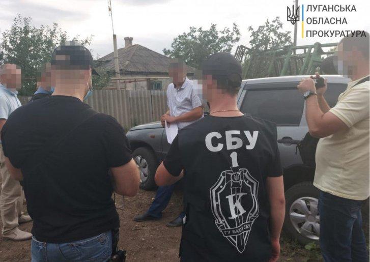 На Луганщині посадовця Держгеокадастру спіймали на хабарі_1