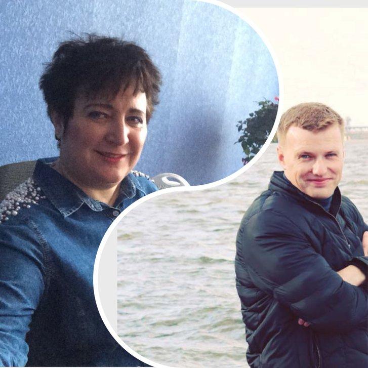 Раїса Мокрій та Олексій Лисенко