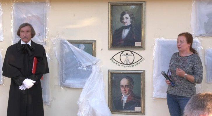 Картинну галерею просто неба відкрили у Миргородській громаді_1