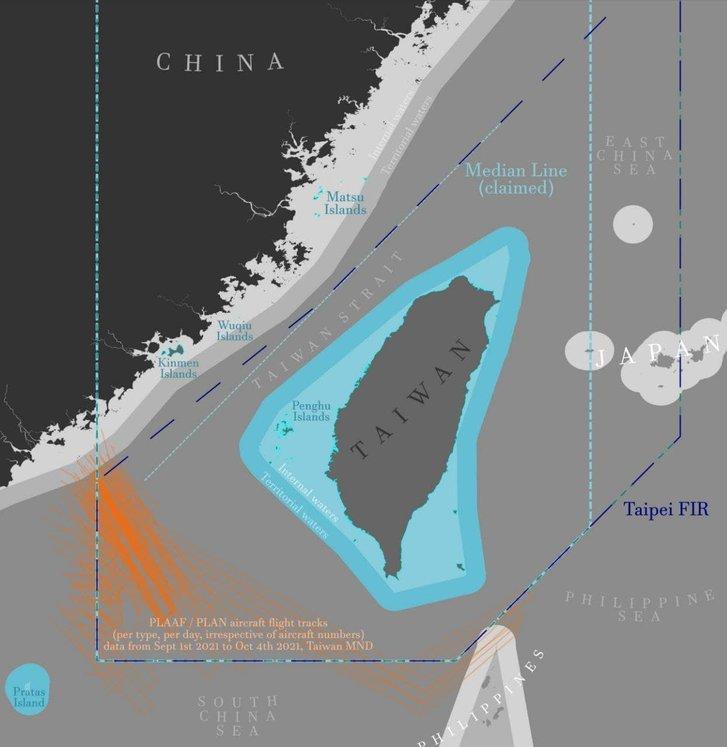 Британський авіаносець погрожує КНР з територіальних вод Тайваню_1