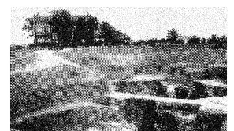 Початок археологічних розкопок у Полтаві