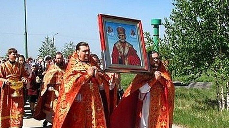 Полтавщина передала ікону Святого Миколи-Чудотворця в зону АТО