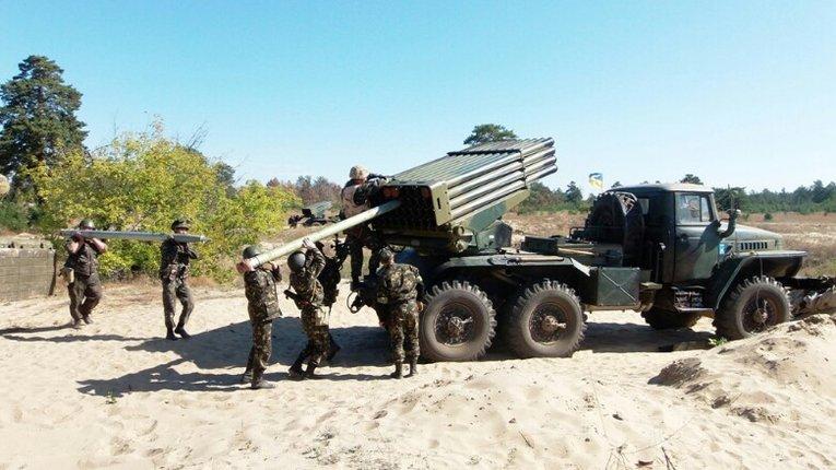 Військові з Полтавщини підвищують бойову майстерність на Дніпропетровщині
