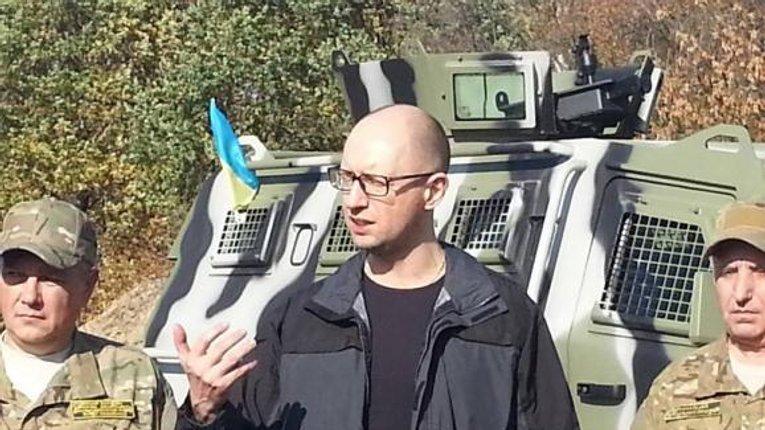 Яценюк розповів скільки коштуватиме Україні «Стіна» на кордоні з РФ