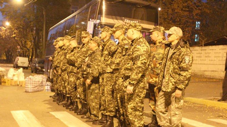 Черговий загін міліціонерів Кременчука відправився на Донбас