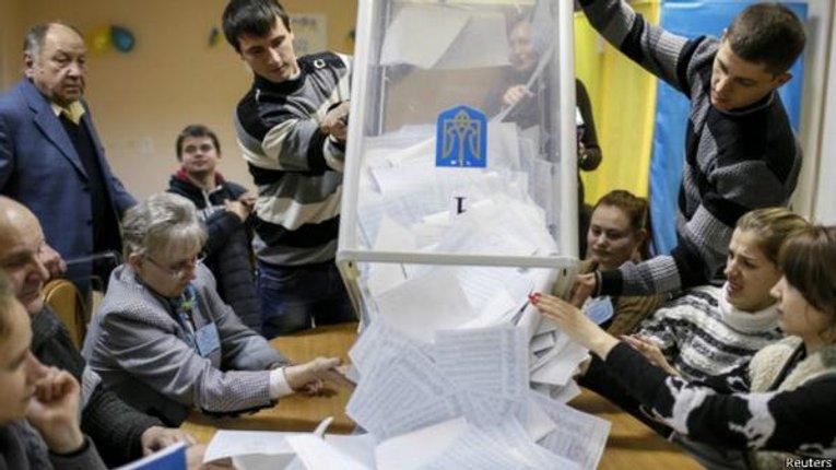 Результати по одномандатних округах Полтавщини на 9:41