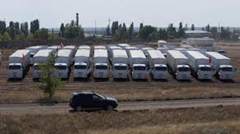 В Україну відправляється черговий «гумконвой» з Росії
