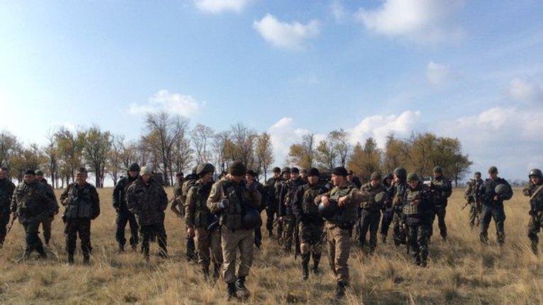 Батальйон «Полтавщина» провів спільні тренування з місцевим населенням