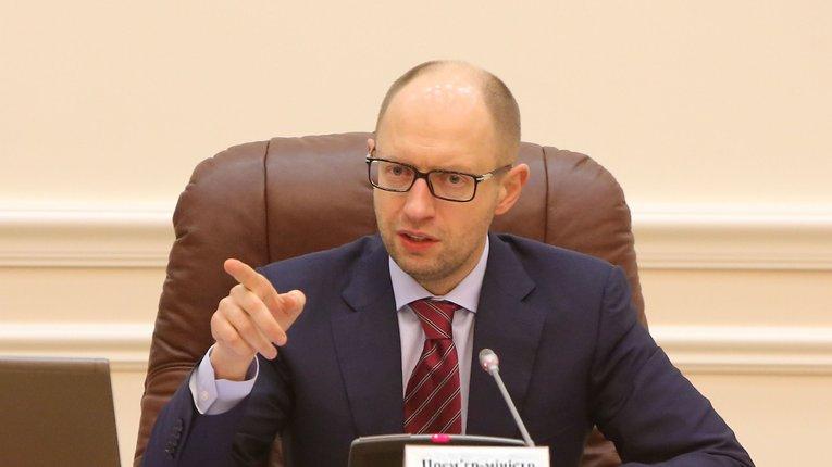 Арсеній Яценюк відмовився фінансувати території, підконтрольні російським терористам