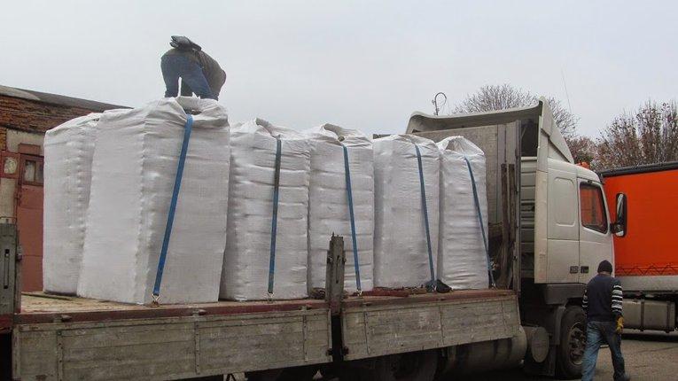 Полтавські активісти передали в зону АТО 20 тонн гуманітарної допомоги