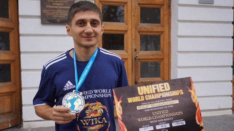 Студент ПолтНТУ – світовий чемпіон з кікбоксингу