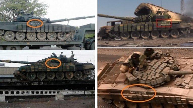 З`явилися докази російського походження техніки і танків, які рухаються під Донецьком
