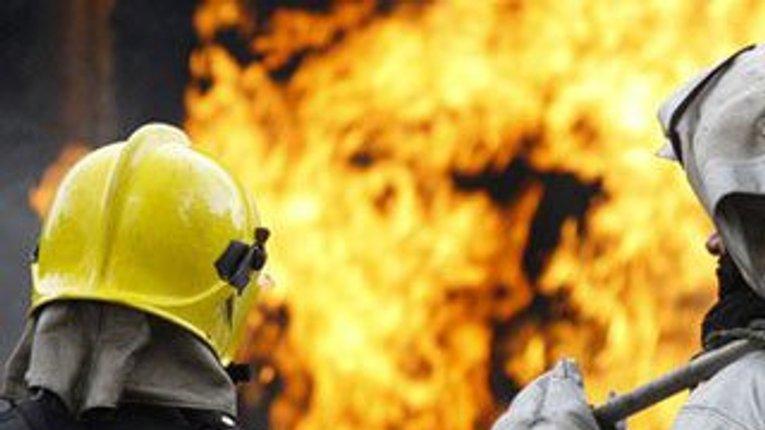 Під Кременчуком відбулася масштабна пожежа: згоріла тонна торфу та 600 піддонів