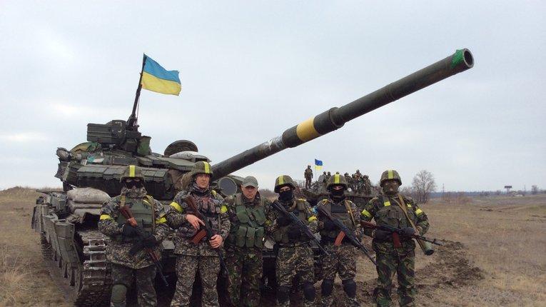 Батальйон «Полтавщина» підсилений важкою технікою готовий боронити Маріуполь