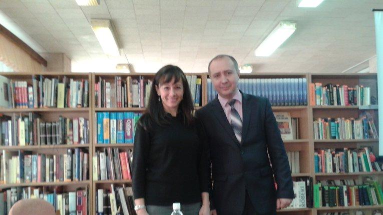 У Полтаві побувала віце-консул США Джейн Гірс, яка зустрілася зі студентами та викладачами полтавських ВУЗів