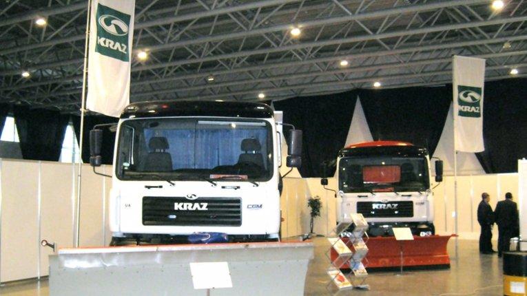 КрАЗи-Дорожники представили на виставці «АвтоДорЕкспо-2014» у Києві