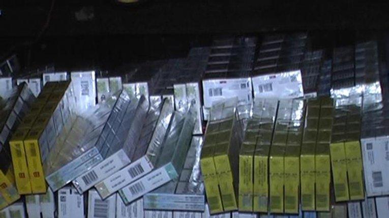 Сепаратистів «ДНР» фінансували з продажу тютюнових виробів. На Полтавщині затримали  вантажівки з контрафактними цигарками
