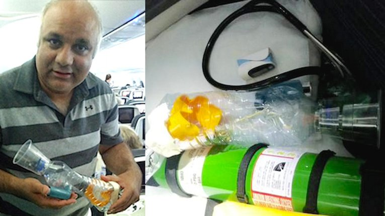 Добрі Новини: Доктор побудував саморобний пристрій, щоб врятувати життя немовляти під час авіарейсу
