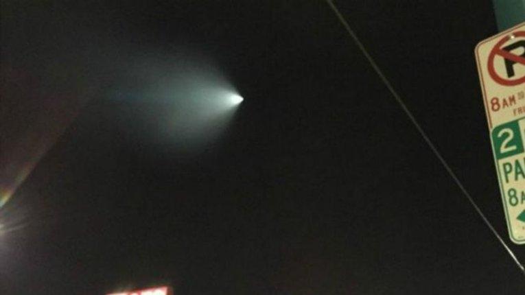 """""""НЛО"""" над Каліфорнією виявився навчаннями флоту"""