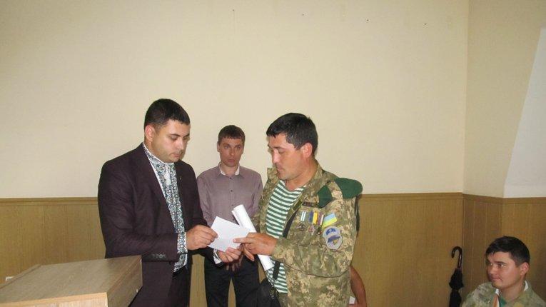 60 учасників АТО з Миргородщини отримали накази про землю