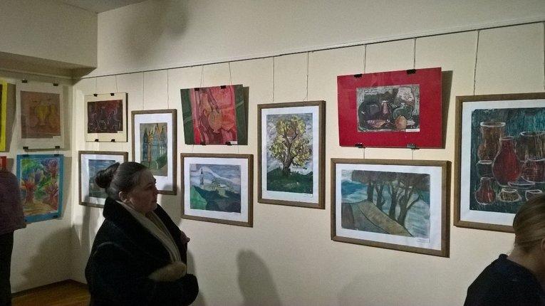 Учні Полтавської школи-інтернату №2 провели художню виставку