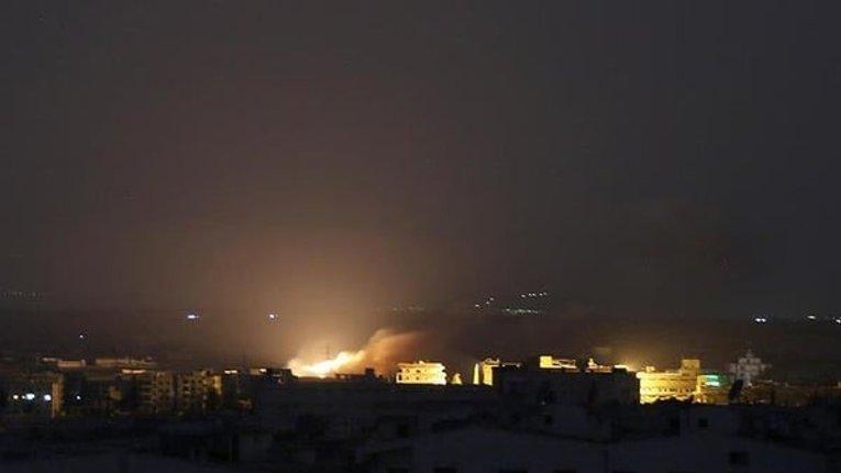 Російські війська атакували фосфорними бомбами Тафтаназ у Сирії