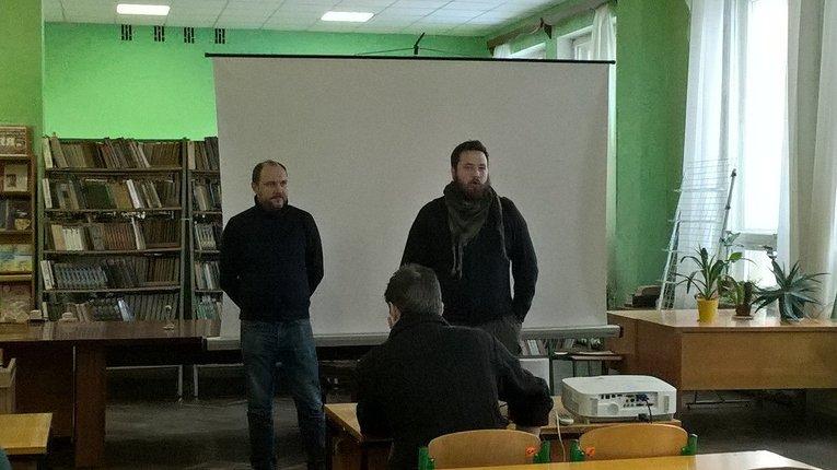 Івано-Франківський письменник презентував «Ліхіє дев'яності» у Полтаві