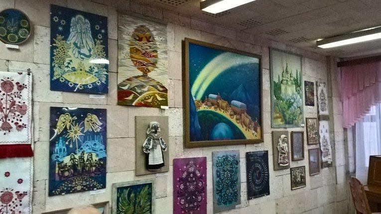 Виставку декоративно-ужиткового мистецтва презентували в Полтаві