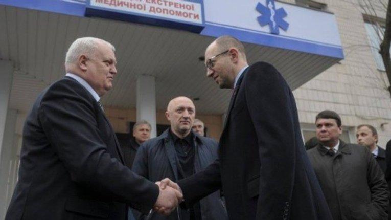 Пріоритети від «Народного Фронту» Яценюка — Україна вільна від українців