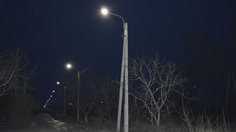 За 8,5 млн грн Горішні Плавні на 90% забезпечили місто LED-освітлюванням