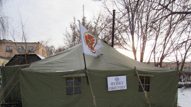 428 людей скористалися послугами полтавських пунктів обігріву