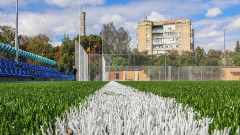 32 спортивних майданчики мають збудувати у 2017 році