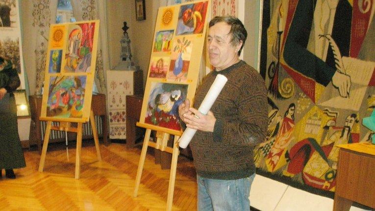 Юні полтавські художники представили власну «Дивовижну зиму»