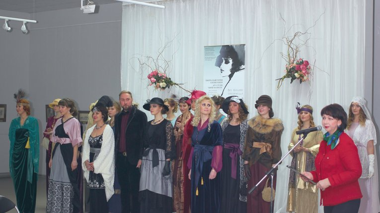 Колекцію одягу в стилі модерн презентували в Полтаві