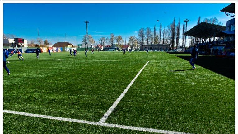 У Кременчуці реконструюють стадіон «Кредмаш»